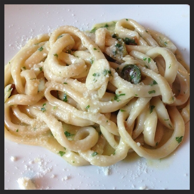 Homemade pasta at Le Virtu | Yelp Alison N.