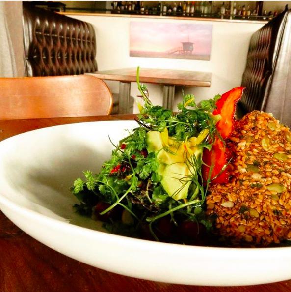 Pacific garden salad | Instagram @mhousemb