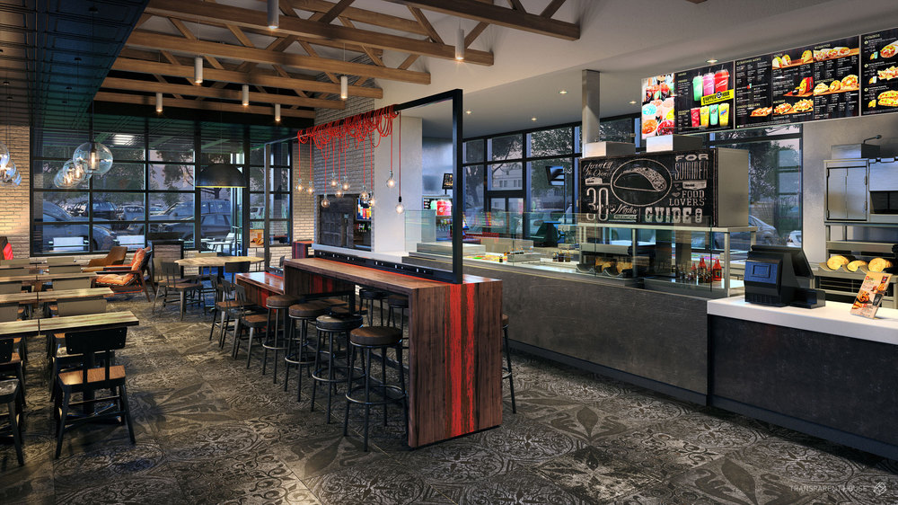 Taco Bell's Urban Edge Design