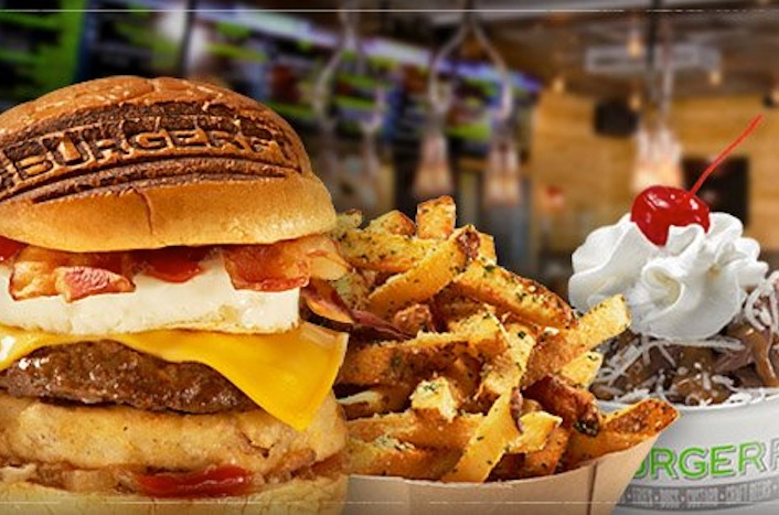 The B.A.D. Burger, french fries and custard | BurgerFi