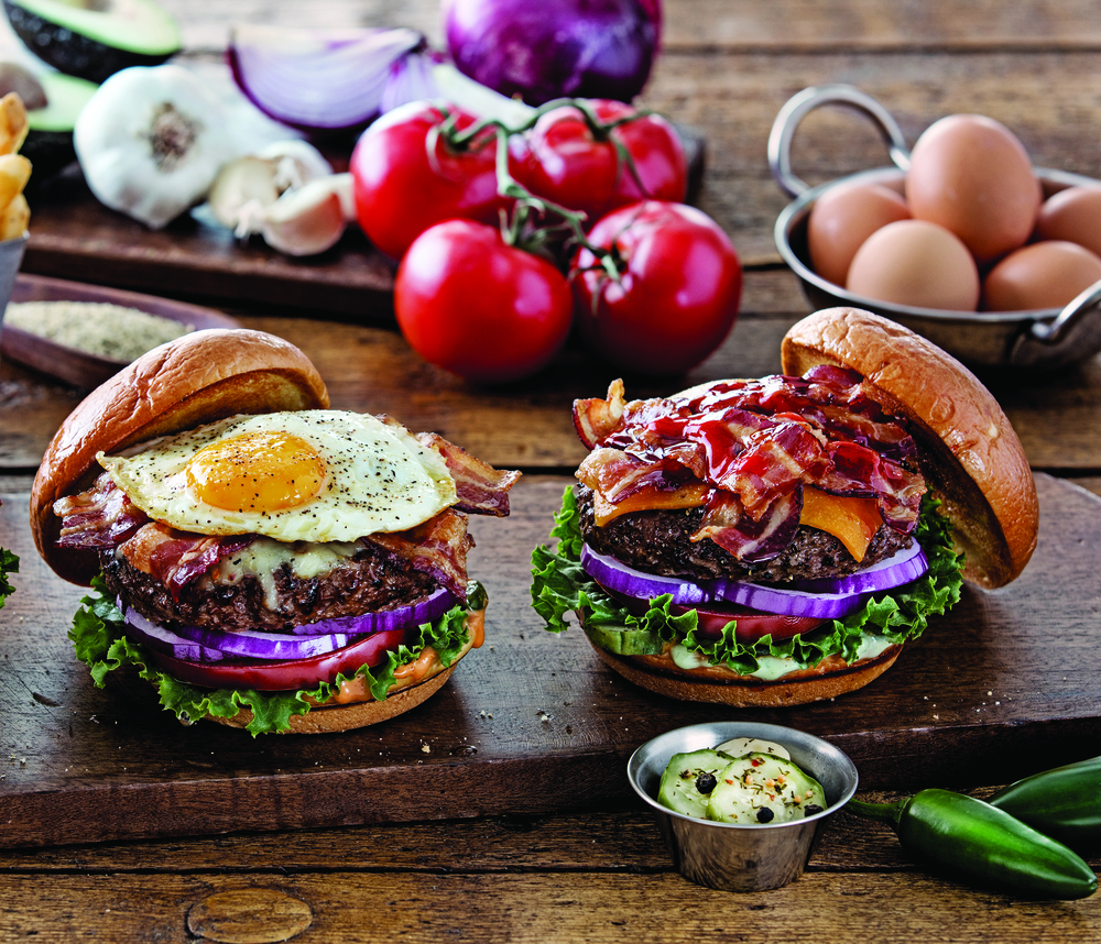 The Sunrise Burger and the Ultimate Bacon Burger at Chili's | Chili's Grill & Bar