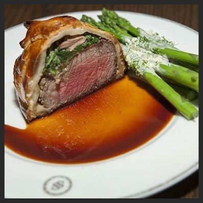 Beef Wellington at Swift & Sons | Instagram @swiftandson