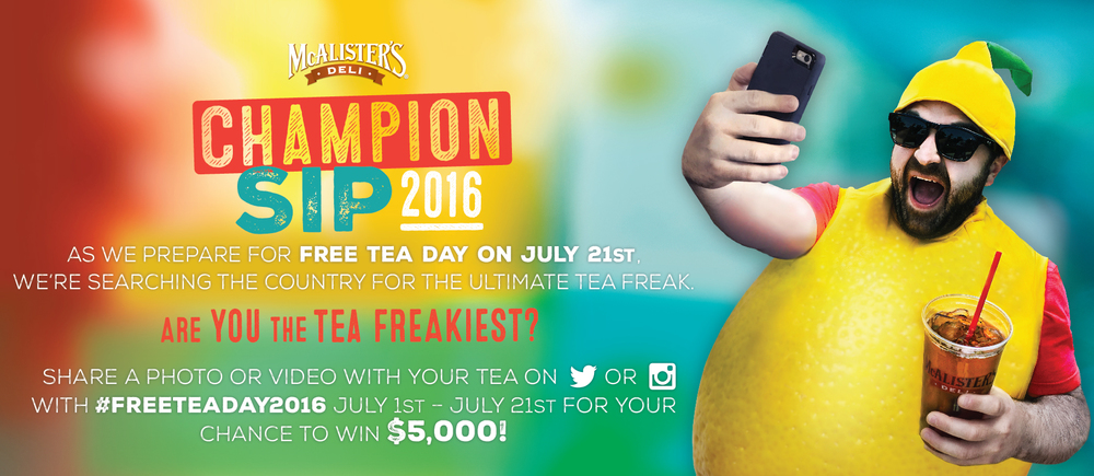 McAlister's social contest  | McAlister's Deli