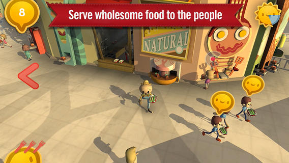 Chipotle's Scarecrow game | iTunes.apple.com