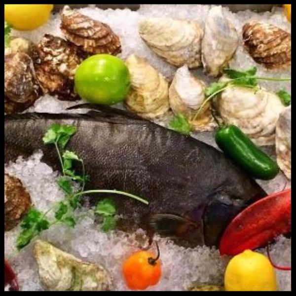 Fresh Seafood at Los Chigones | @loschingones_rinoLos Instagram