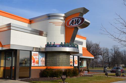 A&W Restaurant in Canada