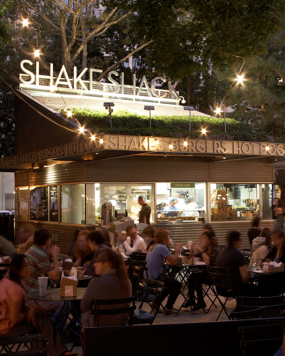 Madison Square Park Shake Shack |  William Brinson
