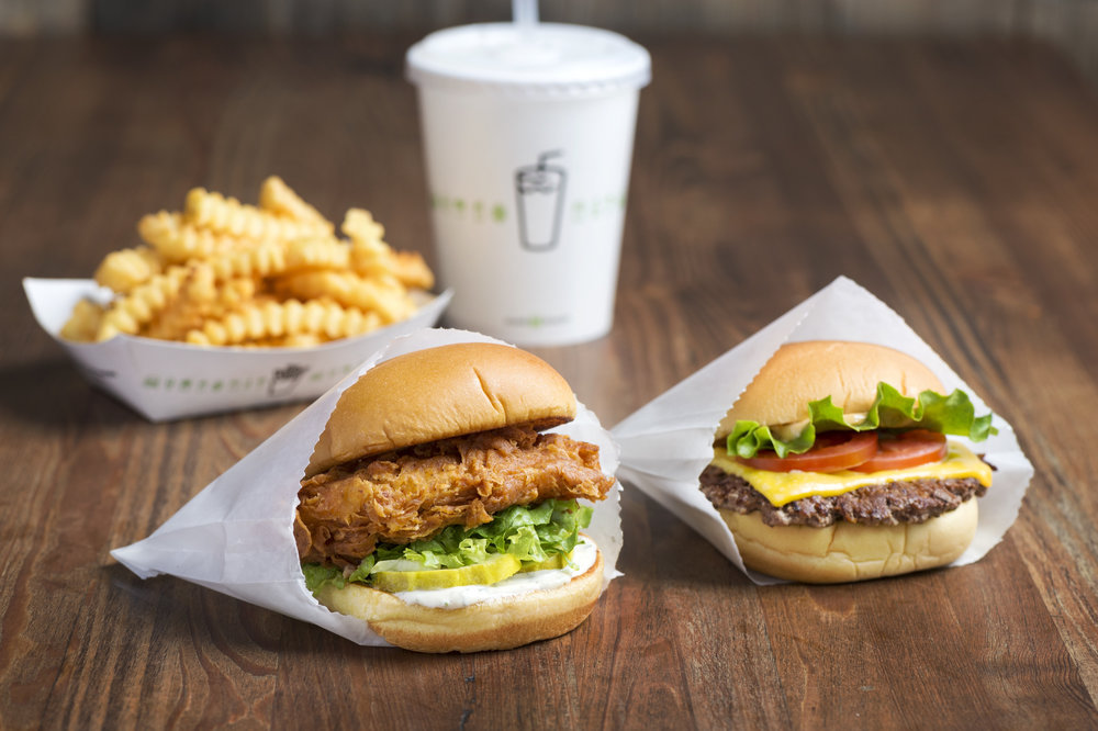 Chick'n Shack and ShackBurger |  Shake Shake/Evan Sung