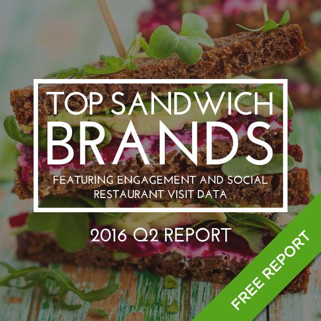 2016 Top Sandwich Brands