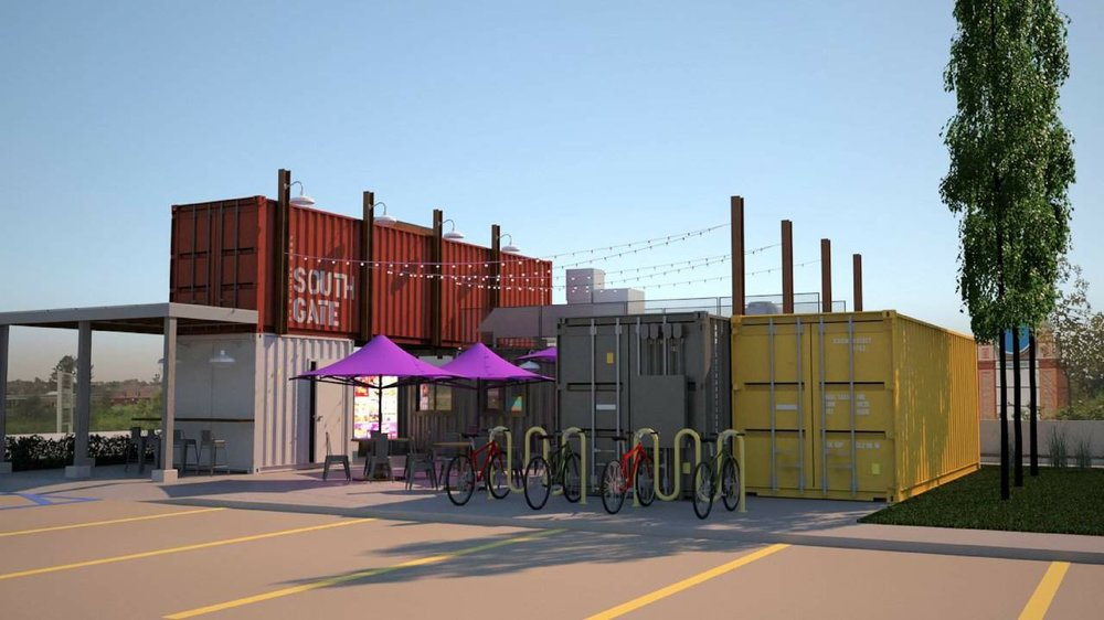 Taco Bell Shipping Container Restaurant