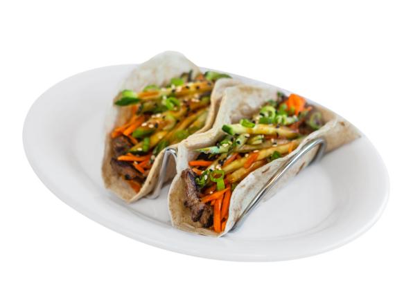 New Korean Bbq Street Tacos |  Pei Wei