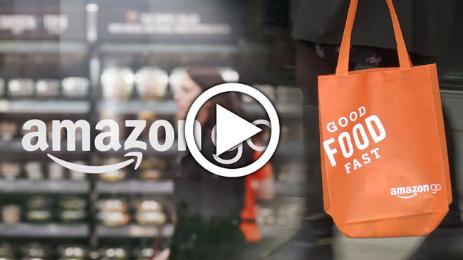 First Amazon Go Grocery Store Opens to Public in Seattle