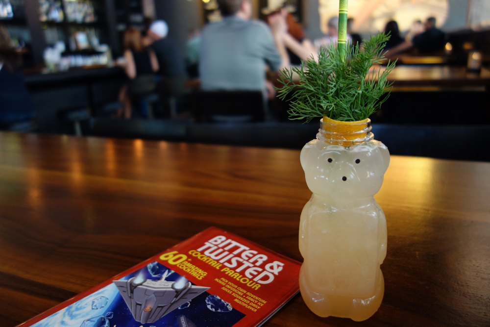 Bear Witness cocktail at Bitter & Twisted Cocktail Parlor in Phoenix, Courtesy Bitter & Twisted