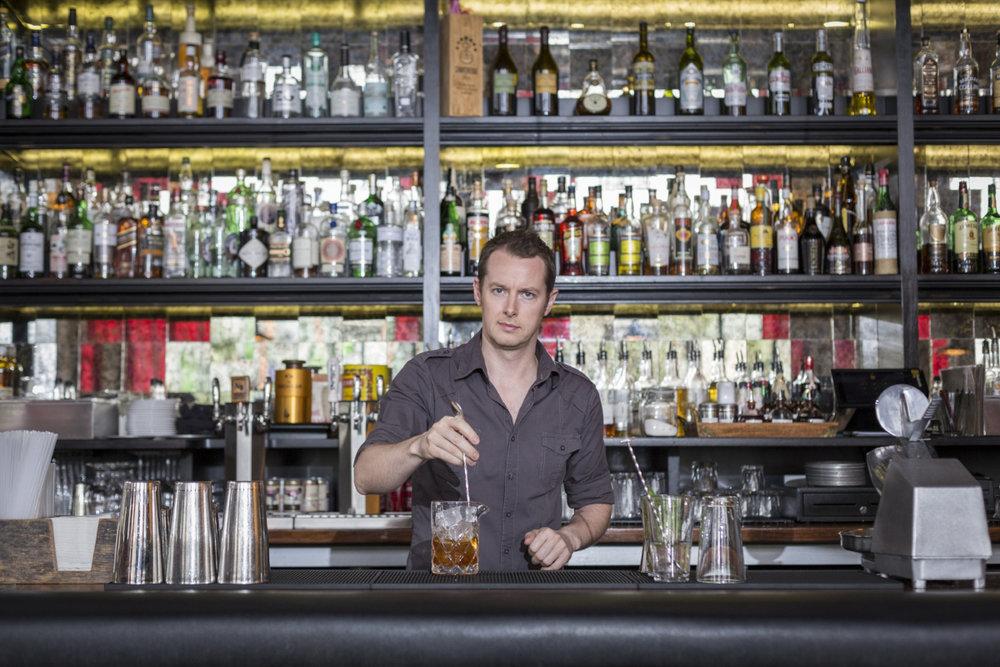 Ross Simon, Proprietor and Principal Barman, Bitter & Twisted, Phoenix