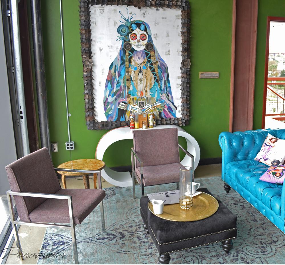 Interior of Paramour Bar, San Antonio; Photo Credit Carlos Cervantes
