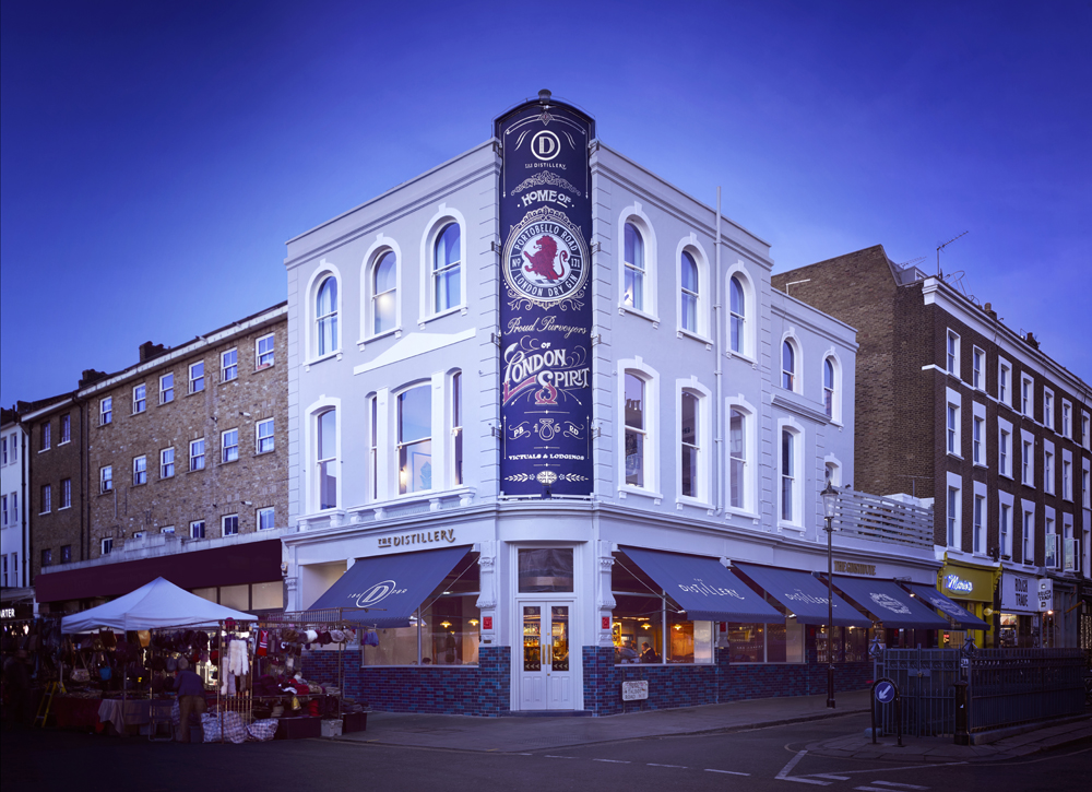 The Distillery; Courtesy of Portobello Road Gin/The Distillery