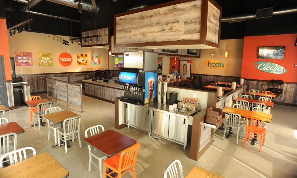 New interior of Hoots | Hooter's