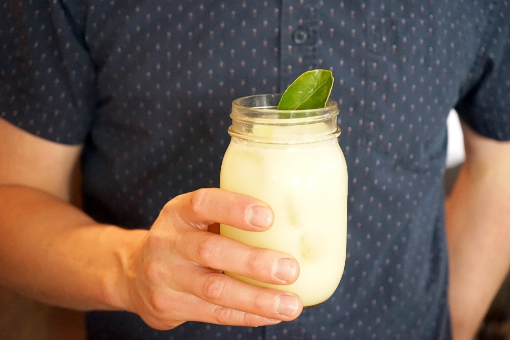 Coconut Limeade  | Photo Courtesy of Manhattan Beach Post.