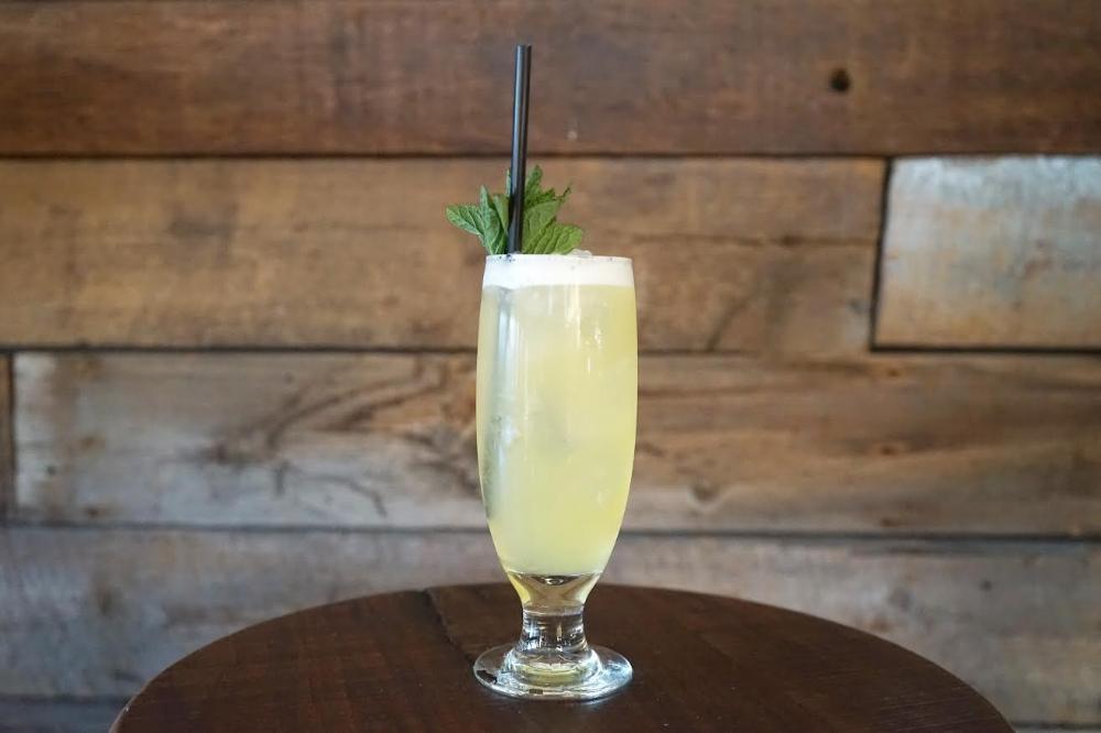 Pineapple-Yuzu Collins  | Photo Courtesy of Manhattan Beach Post.