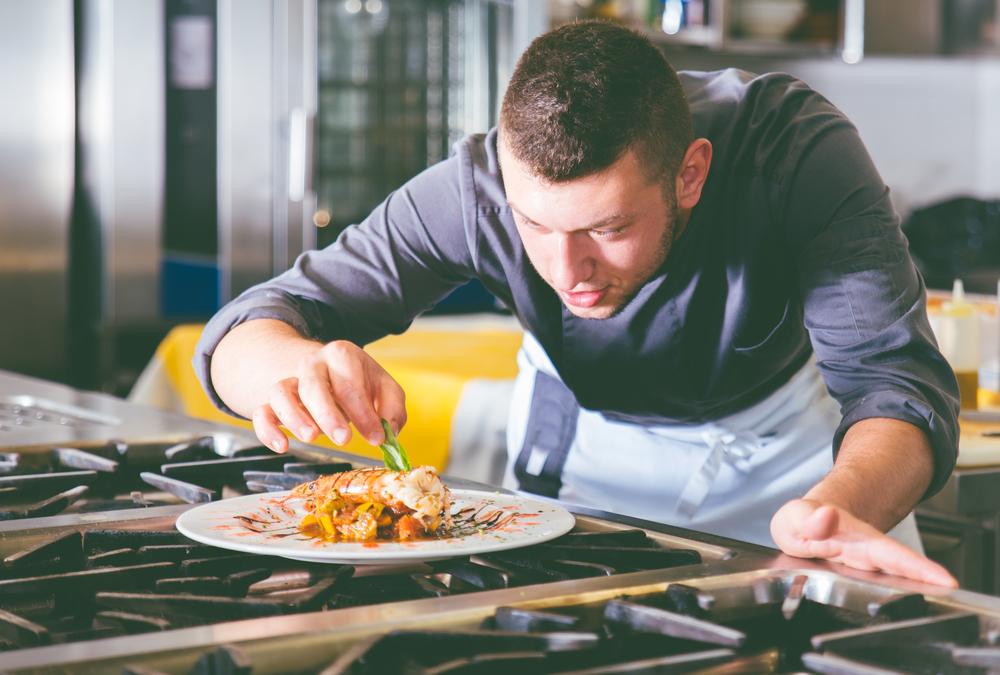 Focused Chef
