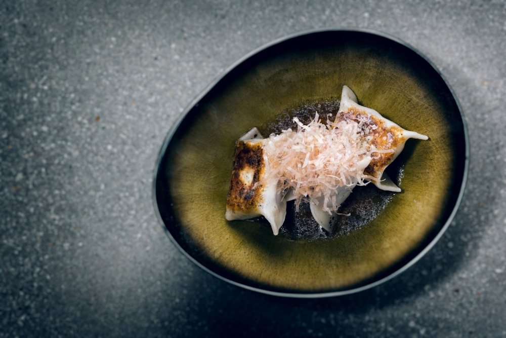 Pork Shitake Gyoza  | Photo Credit: Juan Fernando Ayora