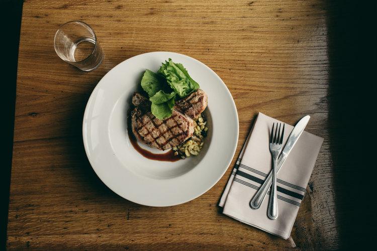 A Modern Pork Chop;credit Betty Clicker Photography