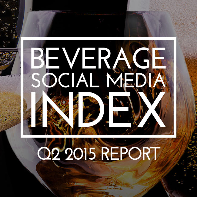Beverage Social Media Index of Q2 2015 -