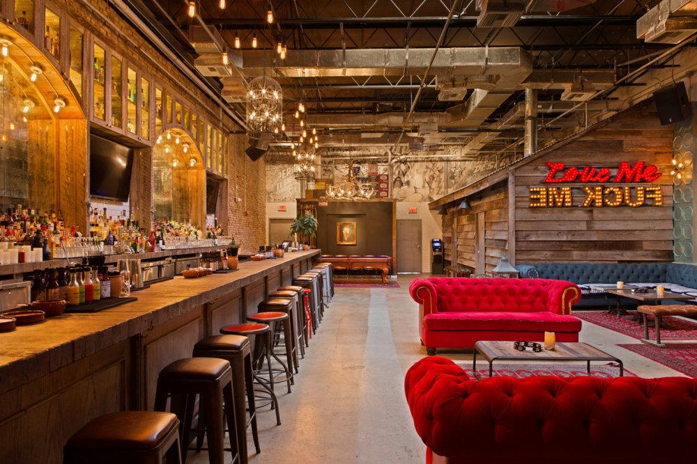 The lounge at Bodega |Bodega Taqueria y Tequila