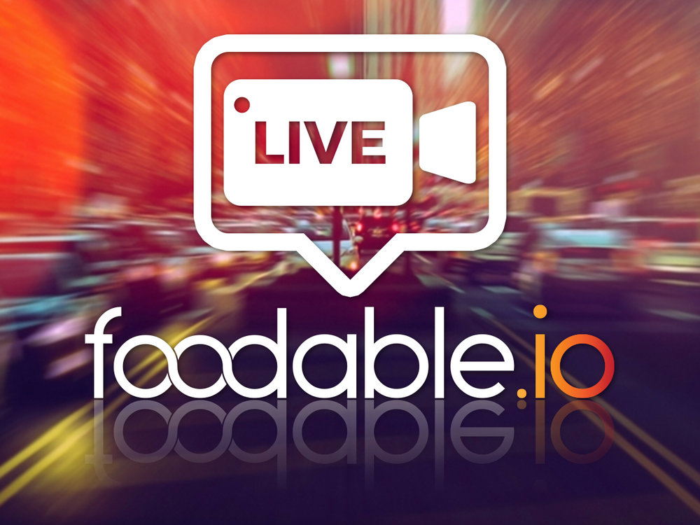 Can't make it to Foodable.io? - Be a Virtual Attendee as we live stream the event.