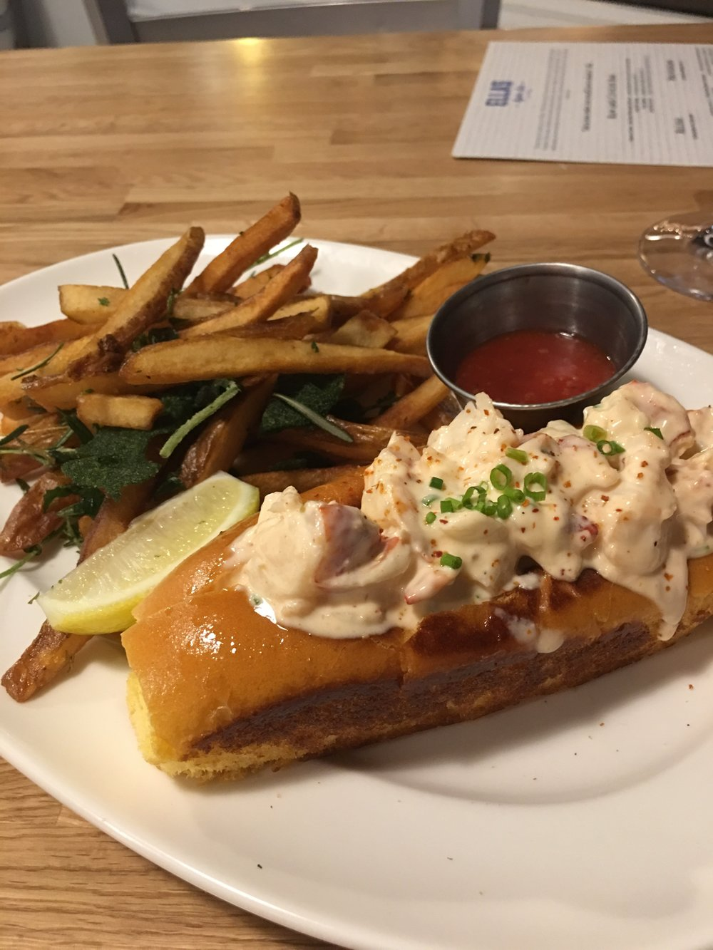 Lobster Roll | PHOTO COURTESY OF ELENA VIVAS