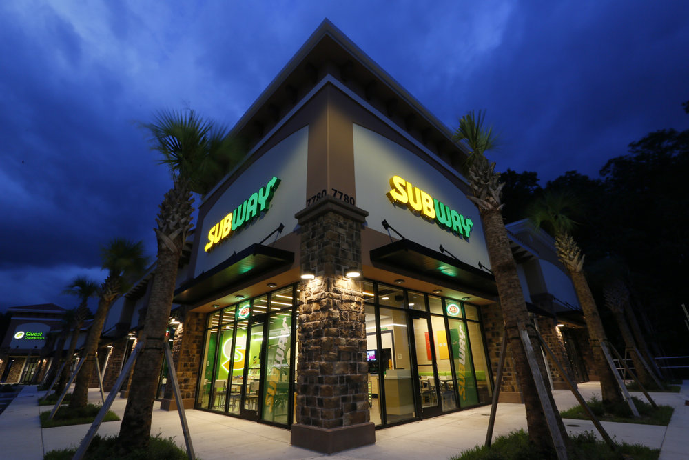 Exterior of the Subway pilot store | Subway