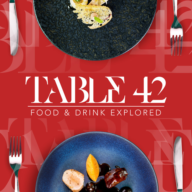 TABLE 42   Behind-The-Scenes Coverage of the World's Greatest Chefs & Restaurateurs