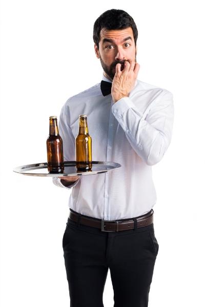 Scared Waiter