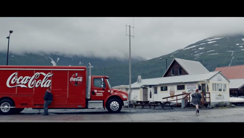 Coca-Cola Delivery Truck
