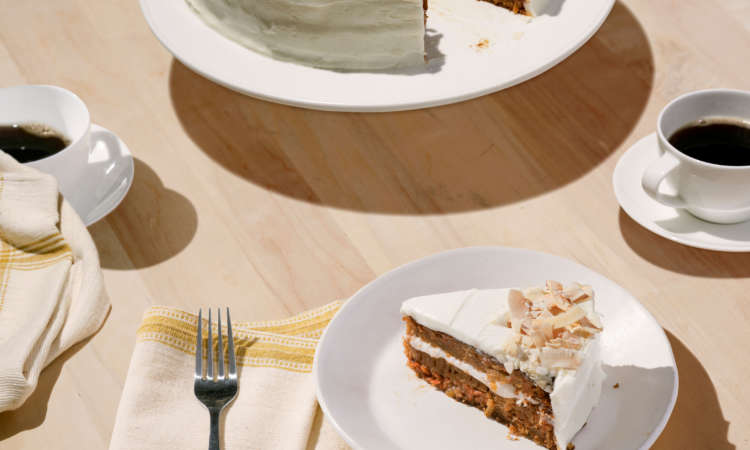 Carrot Cake With Maple Labneh Frosting / Courtesy of Chobani®