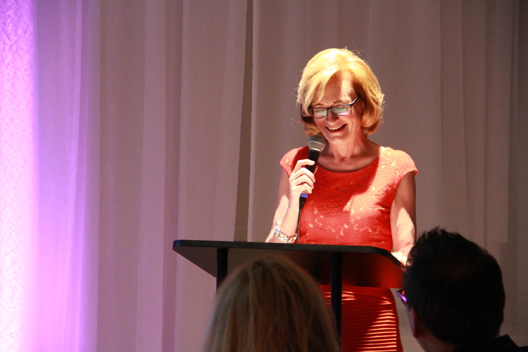 Dawn Sweeney as the Keynote Speaker at the Fast Casual Nation Premiere |   Foodable Network