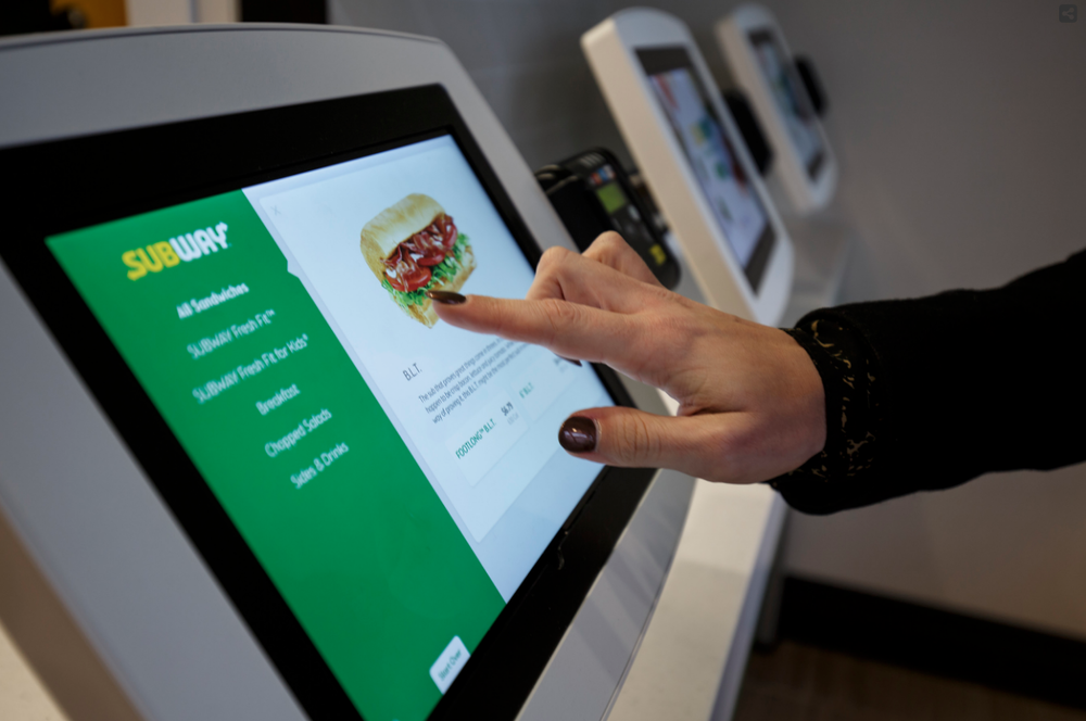 Self ordering kiosks |  Subway