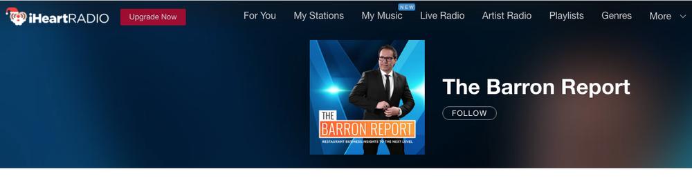 iHeartRadio The Barron Report
