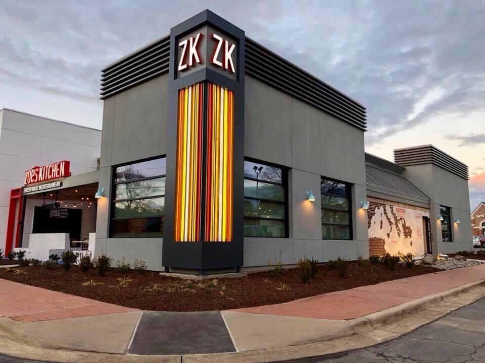 Zoes Kitchen New Exterior Design | BusinessWire