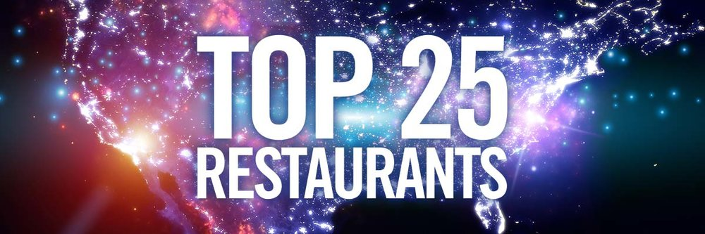 National US Top 25 Restaurants