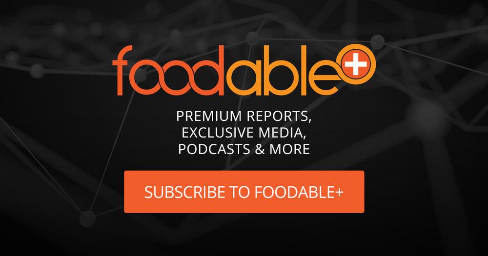 Want access to premium content? - Get the latest in-depth reports, special podcasts, access to exclusive events and custom research and editorial with the Foodable Plus Membership.