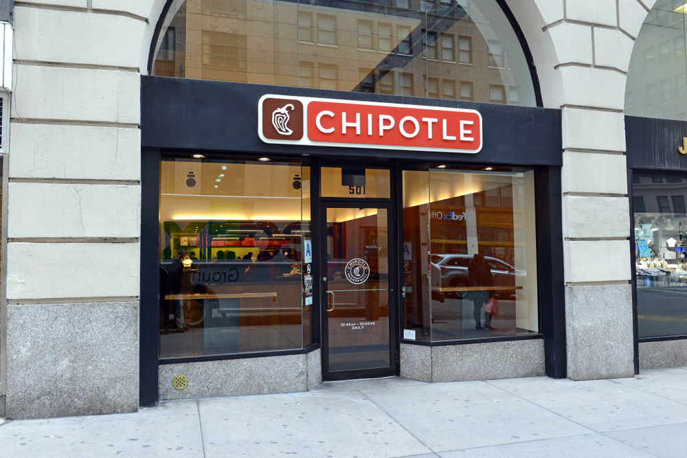 Chipotle storefront