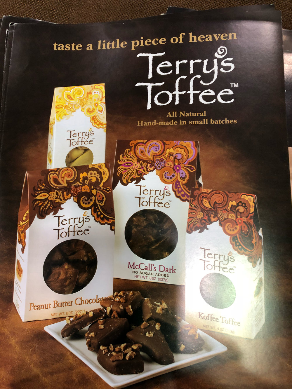 Terry's Toffee at the 2018 Summer Fancy Food Show |  Foodable Network