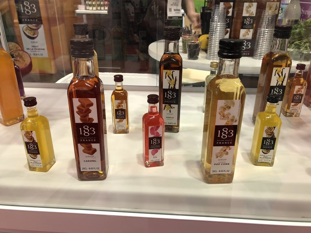 Maison Routin Syrups at the 2018 Summer Fancy Food Show | Fo odable Network