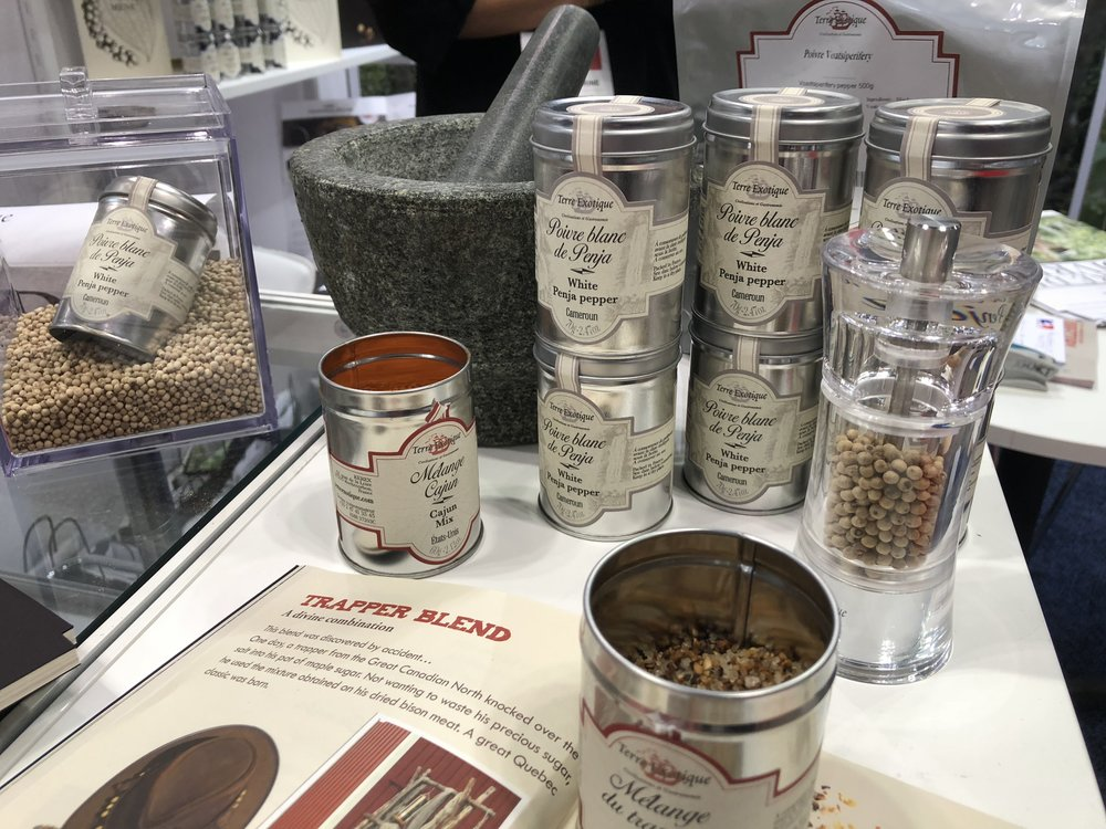 Terre Exotique spice blends at the 2018 Summer Fancy Food Show | Fo odable Network