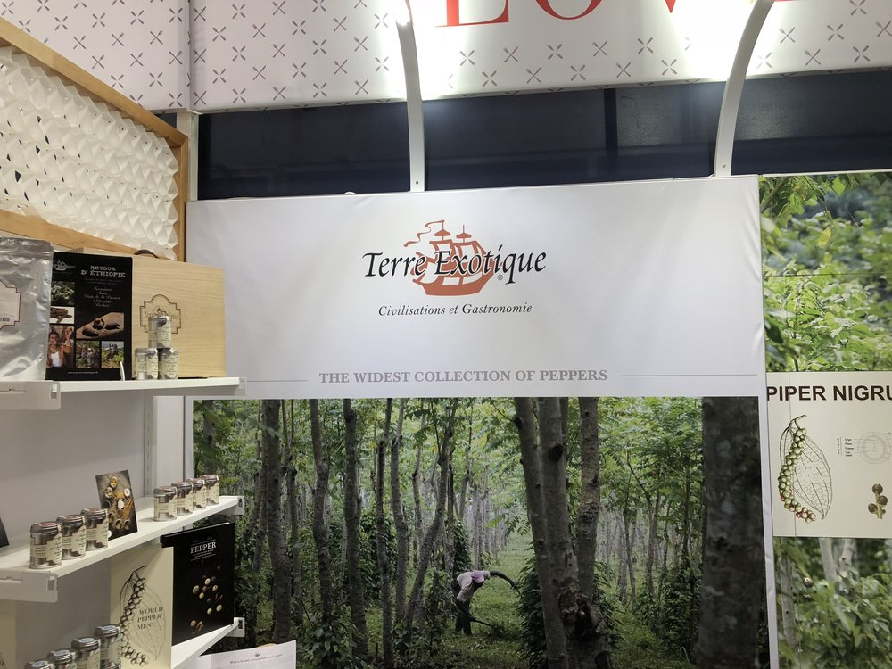 Terre Exotique booth at the 2018 Summer Fancy Food Show | Fo odable Network