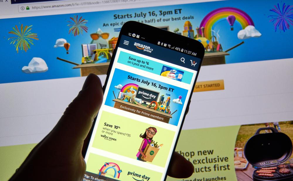 Amazon Prime Day on mobile