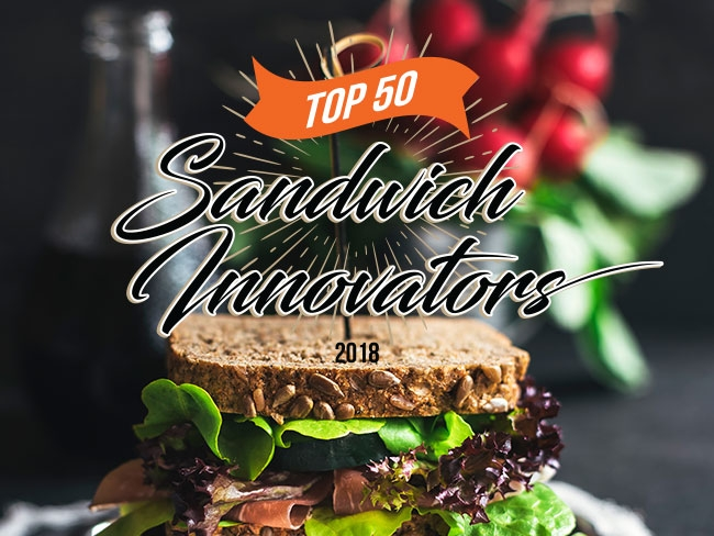 Top 50 Sandwich Innovators