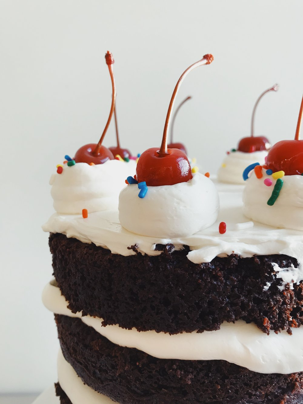 Hot Fudge Sundae Birthday Cake Sogis Honey Bakeshop