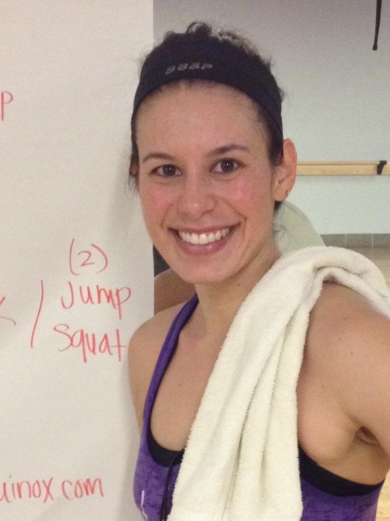 Don't let her loveliness fool you. Lisa Kinder teaches a kick-ass class.